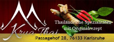 Krua Thai Restaurant Karlsruhe